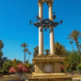 Sevilla - Jardines de Murillo - Monument de Christopher Columbus