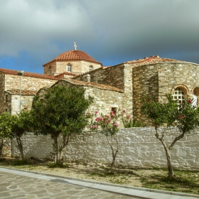 Paros, Parikia- The Byzantine church of St. Constantine - Парос, Парикия - Византийската църква Св.Константин