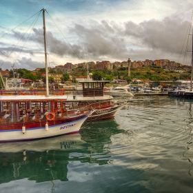 Созопол, пристанището, морето