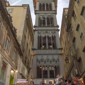 Lisboa - Elevator de Santa Justa