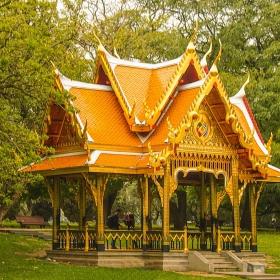 Pavilhao Tailandes no Jardim de Belem - Lisboa