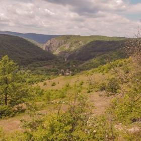 Панорамен изглед към с.Беренде извор