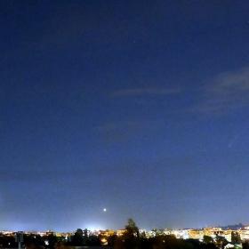 Кометата Neowise над София -15.07.2020г.NWN,22.35ч.