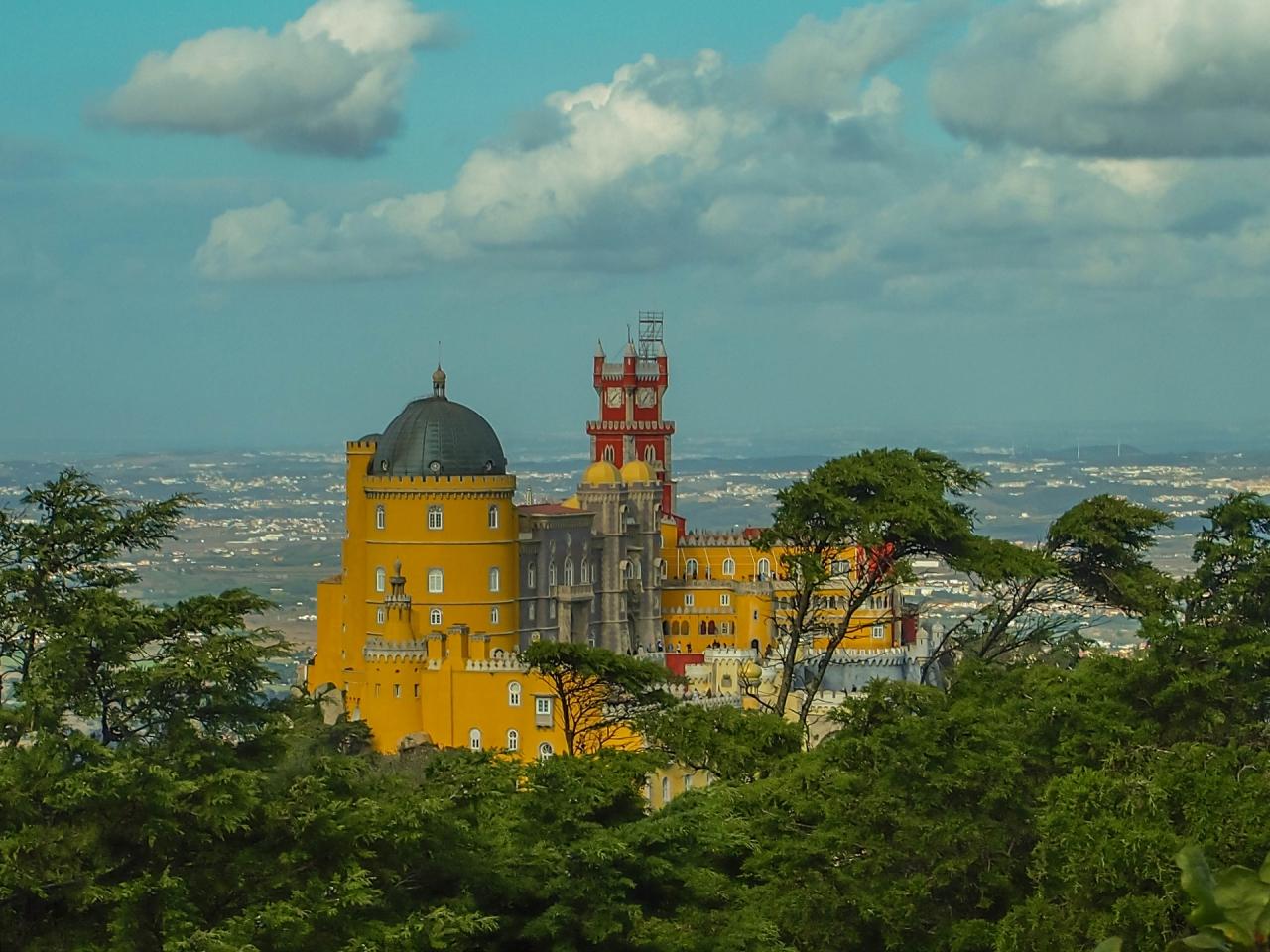 Sintra - Palacio da Pena - Дворецът на Пена