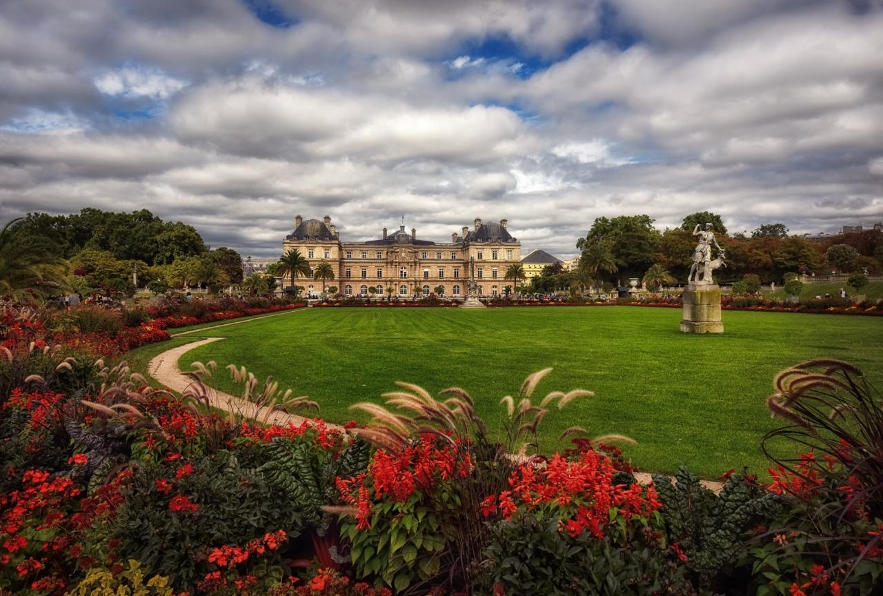 Люксембургска градина, Париж