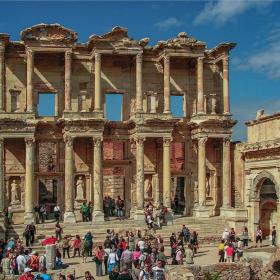 Ефес - Библиотеката на Целс