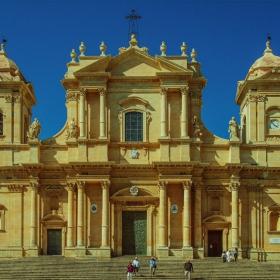 Noto - Sicilia - The Cathedral of St. Nicolo