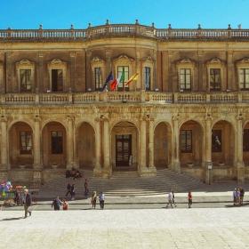 Noto - Sicilia - Palazzo Ducezio