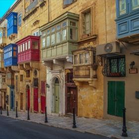 Малтийски балкона - Ла Валета