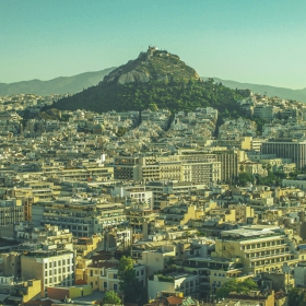 Athens-Lycabettus Hill