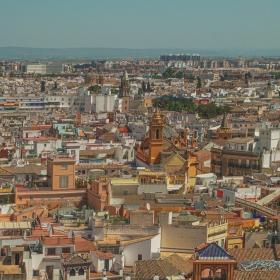 Севиля - Поглед от камбанарията на катедралата
