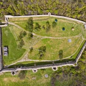 Крепостта край Мезек