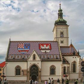 Загреб - Църквата Св. Марко